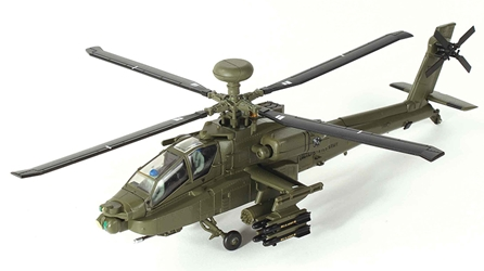 AH-64D Apache Helicopter - 023 US Army 3rd (1:72)