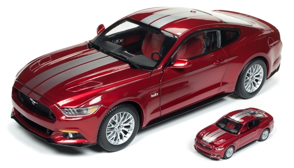 2017 Ford Mustang GT in Ruby Red (1:18)