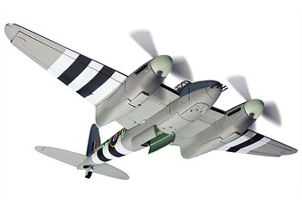 De Havilland Mosquito FBVI MM403 SB-V 464 Squadron Scale 1:32, Corgi Diecast Aviation Item Number AA34606