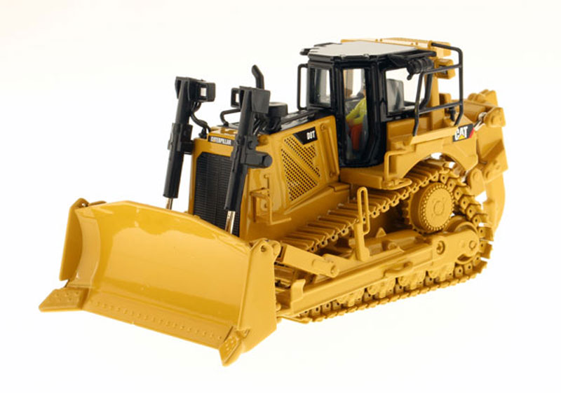Caterpillar D8T Track-Type Tractor with Single-Shank Ripper (1:50)