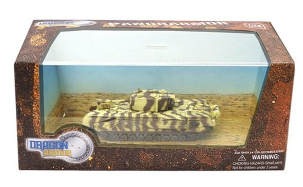 Churchill Mk.III - Junior Regiment 21st Tank Brigade - 145th Royal Armoured Corps - Tunis 1943 (1:72), Dragon Diecast Armor Item Number DRR60685