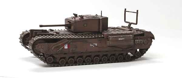 Churchill Mk.III Tank - Dieppe 1942 (1:72), Dragon Diecast Armor Item Number DRR60419