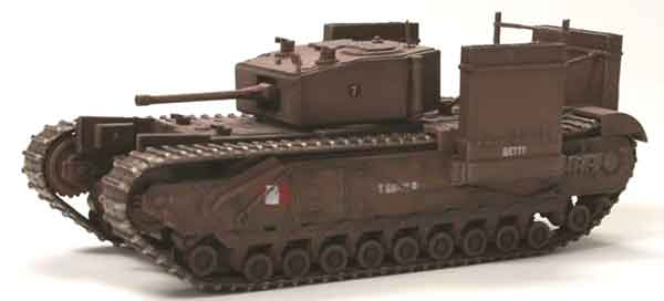 Churchill Mk.III Fitted for Wading Operation Jubilee Dieppe France 1942 (1:72), Dragon Diecast Armor Item Number DRR60669