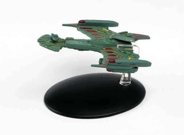 Star Trek - Klingon Neghvar Warship -  Star Trek: Deep Space Nine, Eagle Moss Item Number EMST47