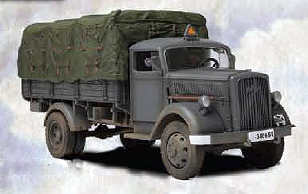 WWII German 3 Ton Cargo Truck Eastern Front (1:32)
