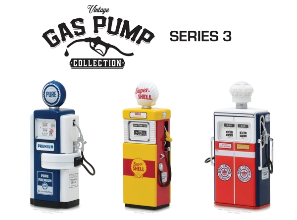 Vintage Gas Pump Collection Series 3 (1:18)