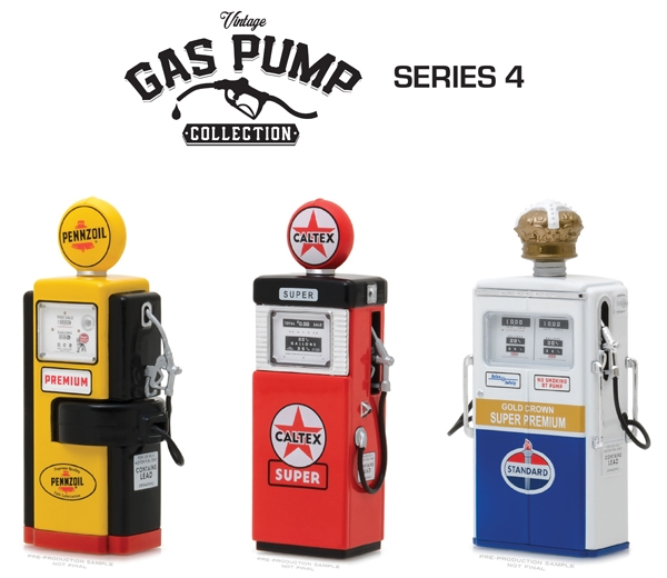 Vintage Gas Pump Collection Series 4 (1:18)