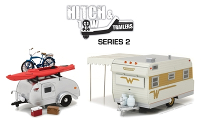 1:24 Hitch and Tow Trailers Series 2 (1:24)