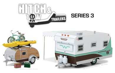 1:24 Hitch and Tow Trailers Series 3 (1:24)