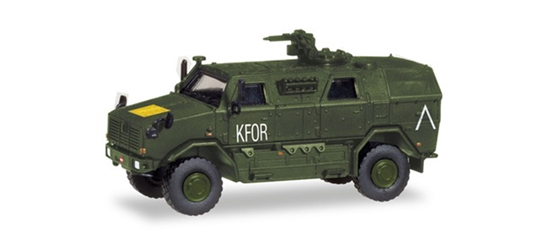 Armed Forces - ATF Dingo 2 Armored Vehicle by Herpa HO Scale Models <p> Item Number: HE746595