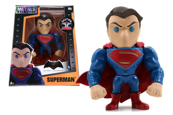 Superman 4-Inch Diecast Metal Figure - Alternate Version - METALS Diecast by Jada Toys, Jada Toys Item Number JDA97665