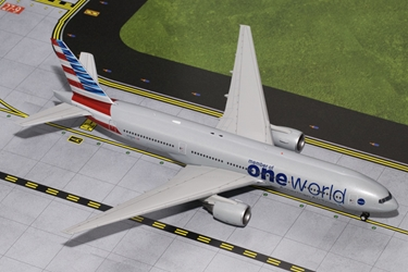 "American B777-200ER ""Oneworld"" N796AN (1:200), GeminiJets 200 Diecast Airliners, Item Number G2AAL526"