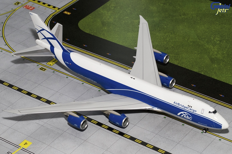 Air Bridge Cargo 747-8F VQ-BRJ (1:200)