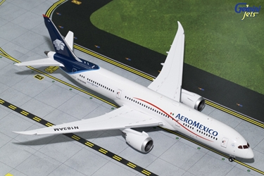 "AeroMexico B787-9 Blue and White Livery"" N183AM (1:200)"
