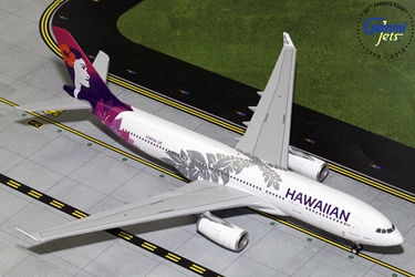 Hawaiian Airlines A330-200 New Livery N380HA (1:200), GeminiJets 200 Diecast Airliners, G2HAL751