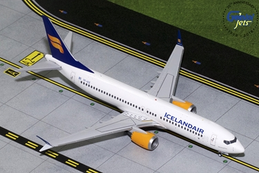 Icelandair B737 MAX-8 New Livery TC-ICE (1:200), GeminiJets 200 Diecast Airliners, G2ICE733