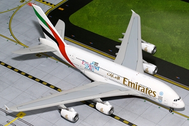 "Emirates A380 ""England Rugby World Cup"" A6-EEN (1:200)"
