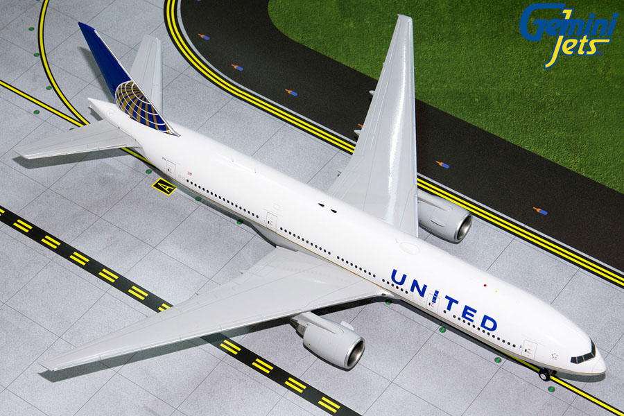 United B777-200ER N796UA (1:200) by GeminiJets 200 Diecast Airliners Model number G2UAL768
