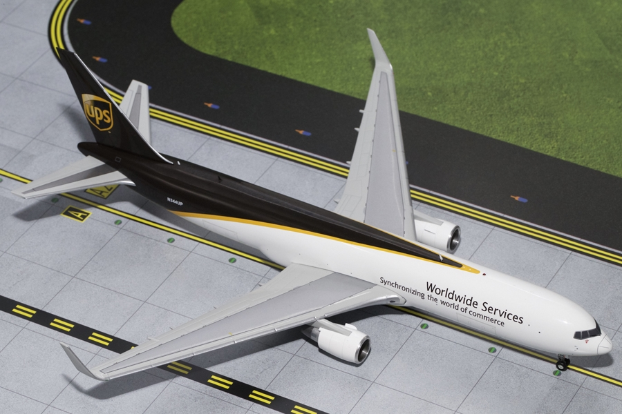 UPS B767-300F with Winglets N344UP (1:200), GeminiJets 200 Diecast Airliners, Item Number G2UPS470