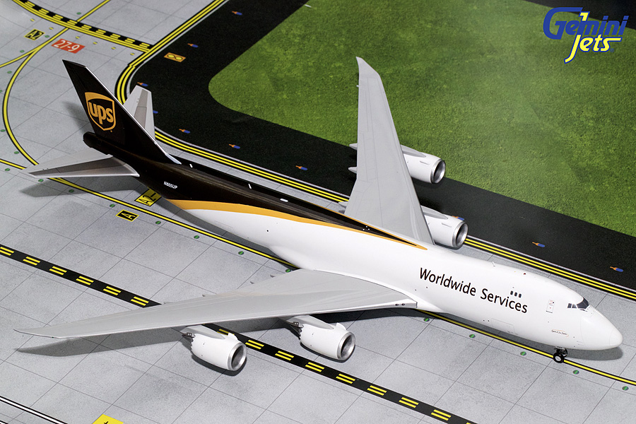 UPS B747-8F N605UP (1:200) - Preorder item, order now for future delivery