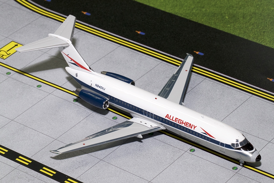 Allegheny DC-9-30 Polished N940VJ (1:200)