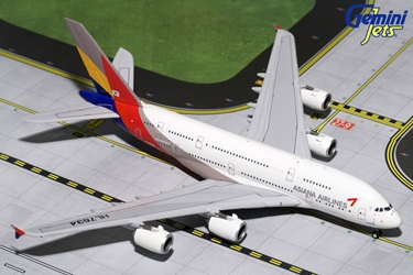 Asiana A380-800 HL7634 (1:400), GeminiJets 400 Diecast Airliners Item Number GJAAR1642