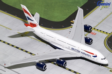 British Airways A380 G-XLEC (1:400), GeminiJets 400 Diecast Airliners Item Number GJBAW1679
