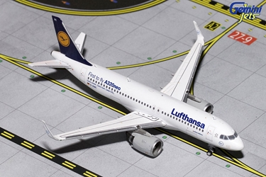 Lufthansa A320neo D-AINC (1:400), GeminiJets 400 Diecast Airliners Item Number GJDLH1610