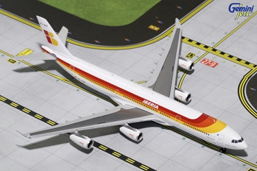 "Iberia A340-300 ""Old Livery"" EC-GUP (1:400)"