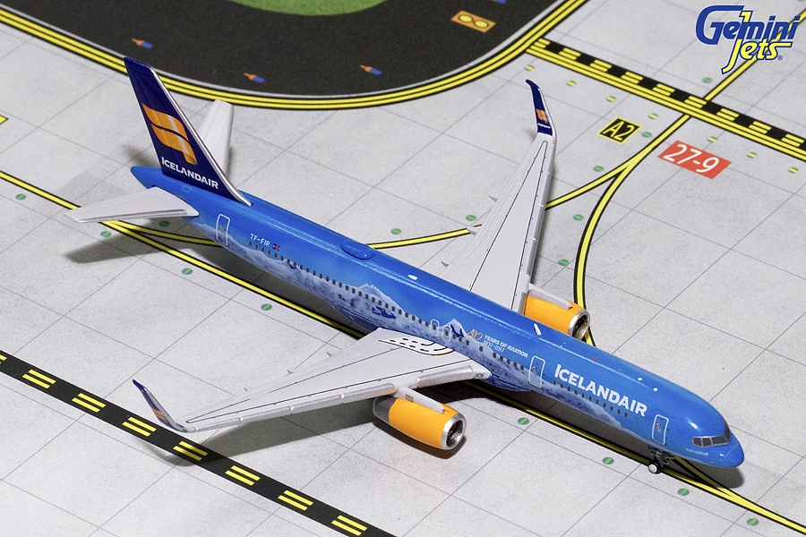 "Icelandair B757-200 Sharklets ""80th Anniversary"" TF-FIR (1:400) - New Mould"