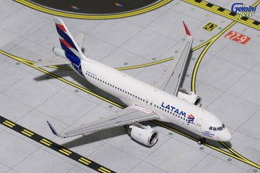 "LATAM A320NEO ""New Livery"" PT-TMN (1:400)?, GeminiJets 400 Diecast Airliners Item Number GJLAN1611"