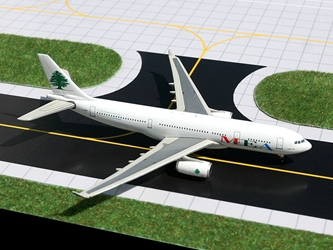 Middle East Airlines (MEA) Airbus 330-200 (1:400), GeminiJets 400 Diecast Airliners, Item Number GJMEA782