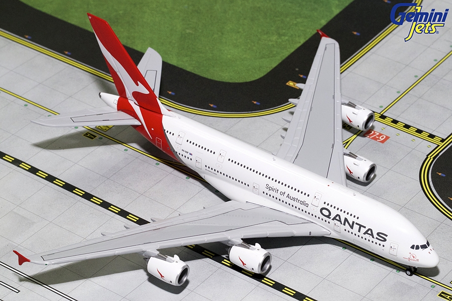 Qantas A380-800 (New Livery) VH-OQF (1:400) - Preorder item, order now for future delivery