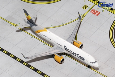 Thomas Cook A321-200 Sharklets, New Livery G-TCDC (1:400), GeminiJets 400 Diecast Airliners Item Number GJTCX1431