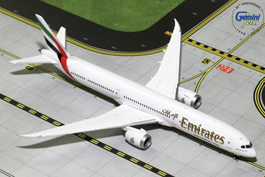 Emirates B787-10 (1:400) - New Mould, GeminiJets 400 Diecast Airliners Item Number GJUAE1761