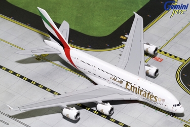 Emirates A380-800 New Expo 2020 Logo A6-EUC (1:400), GeminiJets 400 Diecast Airliners Item Number GJUAE1771