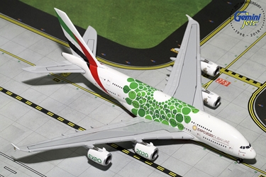 Emirates A380-800 EXPO 2020, Green (1:400)