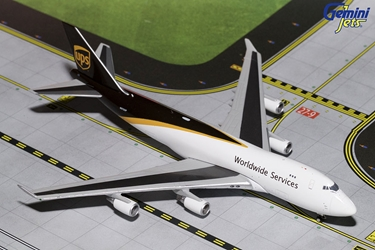 UPS B747-400 New Livery N572UP (1:400)