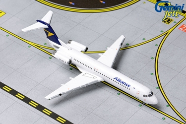 Alliance Airlines Fokker F-100 VH-UQC (1:400) by GeminiJets 400 Diecast Airliners Item Number: GJUTY1832