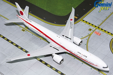JASDF B777-300ER 80-1111 (1:400) by Gemini MACS 400 Diecast Military Planes Model number GMJSD086
