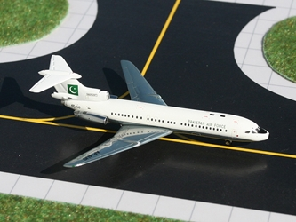 Pakistan Air Force Trident 1E (1:400), Gemini MACS 400 Diecast Military Planes Item Number GMPAF030