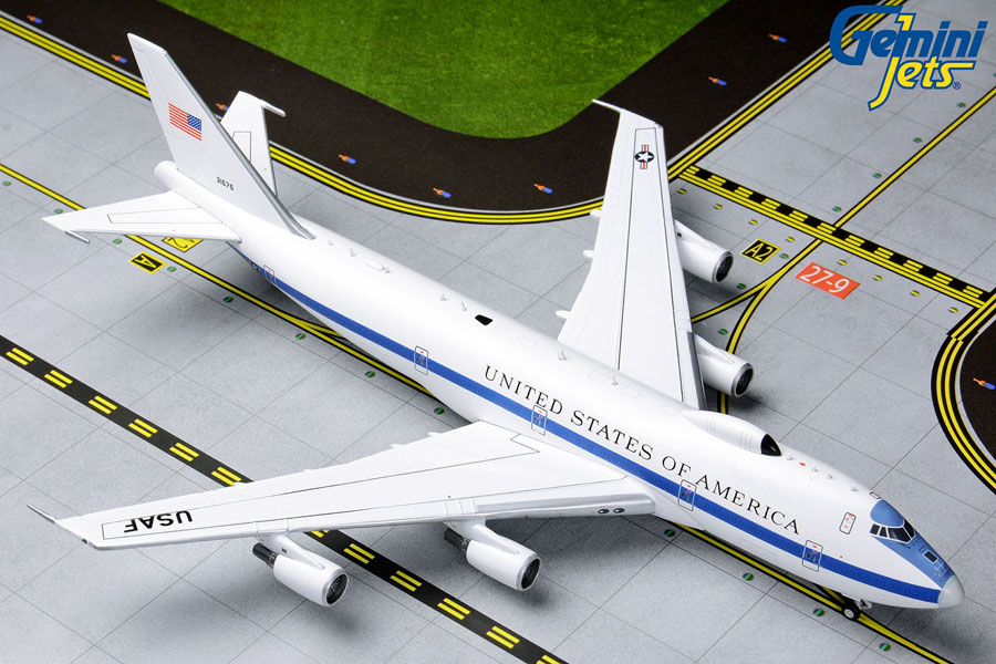 U.S.A.F Boeing E-4B 73-1676 (1:400) by GeminiJets 400 Diecast Airliners Item Number: GMUSA083