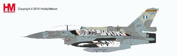 "F-16D Fighting Falcon ,335 Squadron, Hellenic Air Force ""2018 NATO Tiger Meet"", 14th May, 2018 1:72 - Preorder item, order now for future delivery, Hobby Master Diecast Airplanes Item Number HA3865"