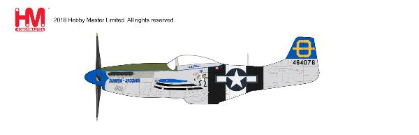 P-51D Mustang, 3rd FS, 3rd FG, Philippines 1945 (1:48), Hobby Master Diecast Airplanes Item Number HA7740
