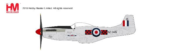 P-51D Mustang, No.3 (Canterbury) Sqn, RNZAF, 2010 (1:48), Hobby Master Diecast Airplanes Item Number HA7742