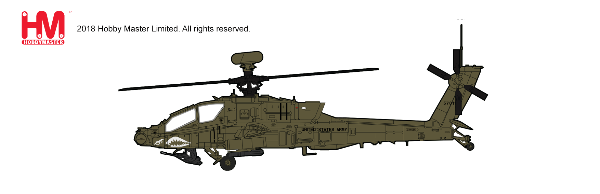 AH-64D Longbow 1st Atck. Recon. Bttn., 1st Combat Av. Brigade, 1st ID, Iraq 2010 (1:72) - Preorder item, order now for future delivery