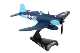 F4u Corsair Pappy Boyington #86 Vmf (1:100) by Postage Stamp Diecast Planes item number: PS5356-3