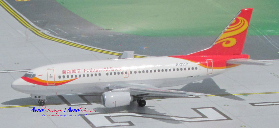 Hainan Airlines B737-300 B-2112 (1:400), AeroClassics Models Item Number ACCHH0915