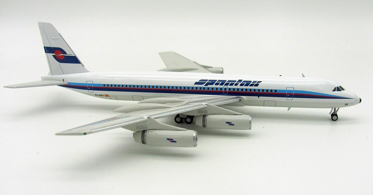 Spantax Convair CV-990A EC-BZO (1:200), InFlight 200 Scale Diecast Airliners Item Number IF9901117