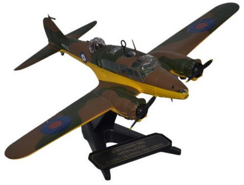 Avro Anson Mk.I, No. 9 Service Flying Training School, 1939 (1:72), Oxford Diecast 1:72 Scale Models Item Number 72AA003